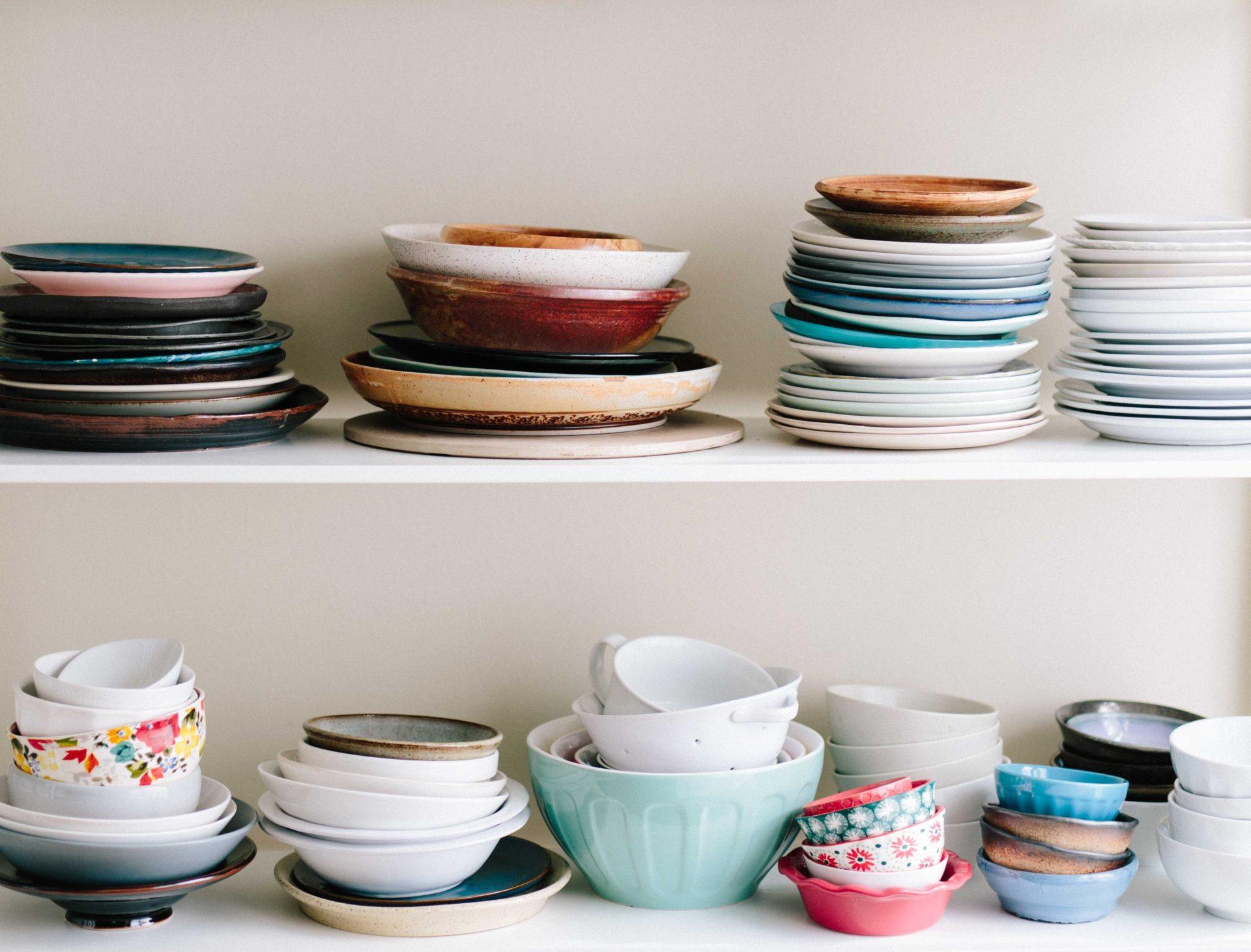 bowls storage
